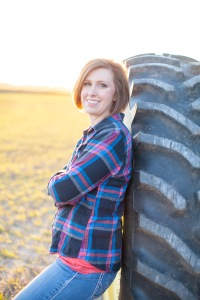 Jenny and her husband Geoff are a first-generation farm family farming near Sterling, KS.